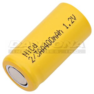 CELLULE 2 / 3 AA 1.2 V 400 MAH NICD FT