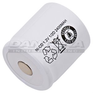 CELLULE 1 / D 2400MAH NICD