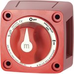 M-SERIE MINI 0N-OFF BATTERY SWITCH WITH KNOB-RED