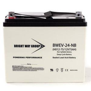 BATT AGM (GR.24) 12V 75AH TERMINAUX NUT&BOLT