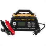 CHARGEUR INTELLIGENT 6 STAGES 12V 2A / 8A / 15A STANDARD / AGM / GEL / LITHIUM