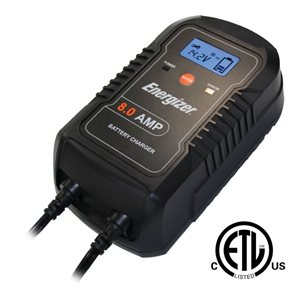 CHARGEUR 12V 8A AUTO 9-STAGES ENERGIZER