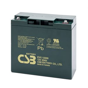 BATTERIE AGM 12V 20 AH HAUTE RESISTANCE