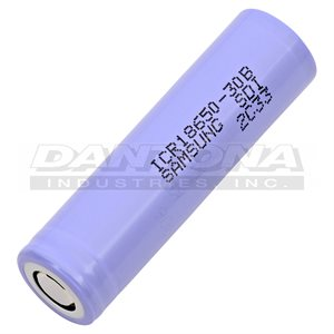 CELLULE 18650 3.7V 3000MAH LI-ION SANS PROTECTION