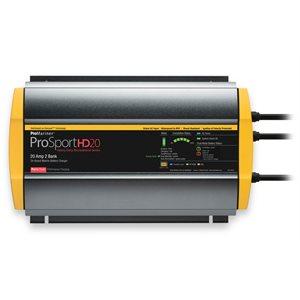 CHARGEUR PROMARINER PROSPORT HD 12 / 24v 20 AMP 2 BANQUES