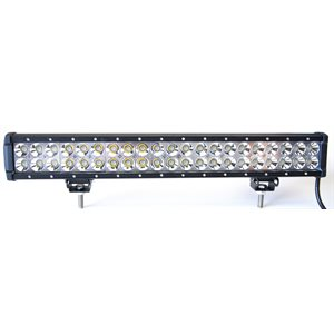 "BARRE DOUBLE 20.0"" 126W FLOOD SUPPORT AMOVIBLES"