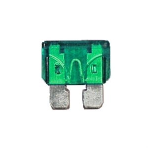 30 AMP STD. BLADE FUSES,GREEN