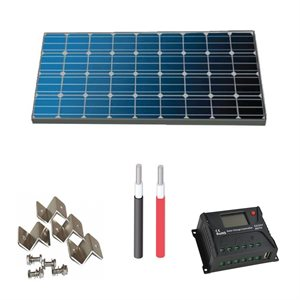 KIT SOLAIRE POLY 170 WATTS POUR VR