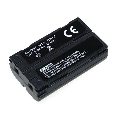 CASIO NP-L7 7.4V 650MAH