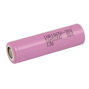 CELLULE 18650 3.7V 3000MAH 15A LI-ION SANS PROTECTION